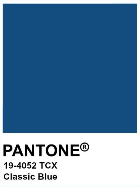 Classic Blue 19-4052