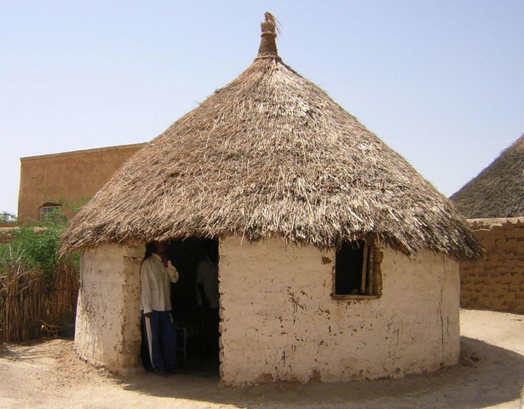 original earth brick home